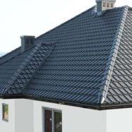Покрытие крыши металлочерепицей Galla