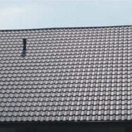 Цвет крыши по каталогу рал 9005 из черепицы Dona