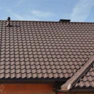Профиль металлочерепицы Монтекристо на крыше