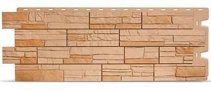 Фасадные панели для отделки дома Docke Stein бронзовый