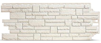 Фасадные панели Деке Stern белого цвета
