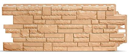 Фасадные панели Деке Stern камень бежевого цвета
