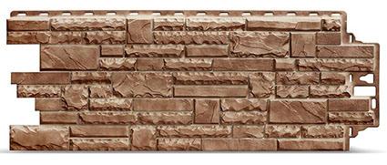 Фасадные панели Деке Stern камень коричневого цвета