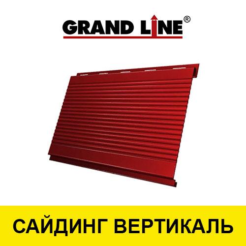 Металлический сайдинг вертикальный GL