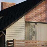 Обшивка дома фасадными панелями Solid Brick от производителя Вокс