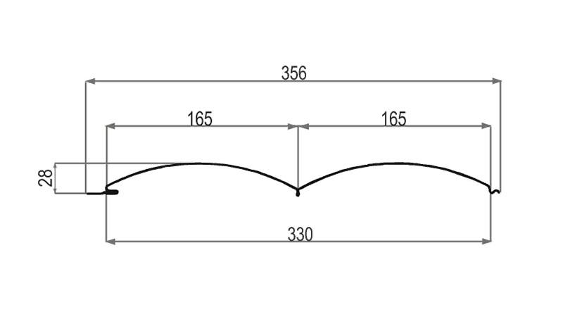 Размеры сайдинга металлического под бревно Металлпрофиль