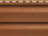 Сайдинг Аляска цвет коричневый