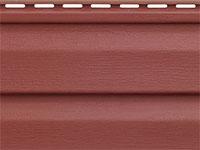 Сайдинг Аляска цвет красный Альта Профиль