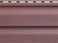 Сайдинг виниловый Аляска цвет Виолет