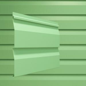Сайдинг Дача цвет зеленый
