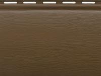 Цвет сайдинга темный орех блок хаус Альта Профиль