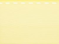 Сайдинг наружный виниловый цвет желтый
