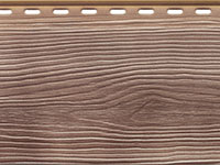 Сайдинг наружный Альта Профиль серии Альта-Борд цвет коричневый