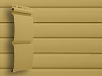 Сайдинг блок хаус цвет карамельный grand line